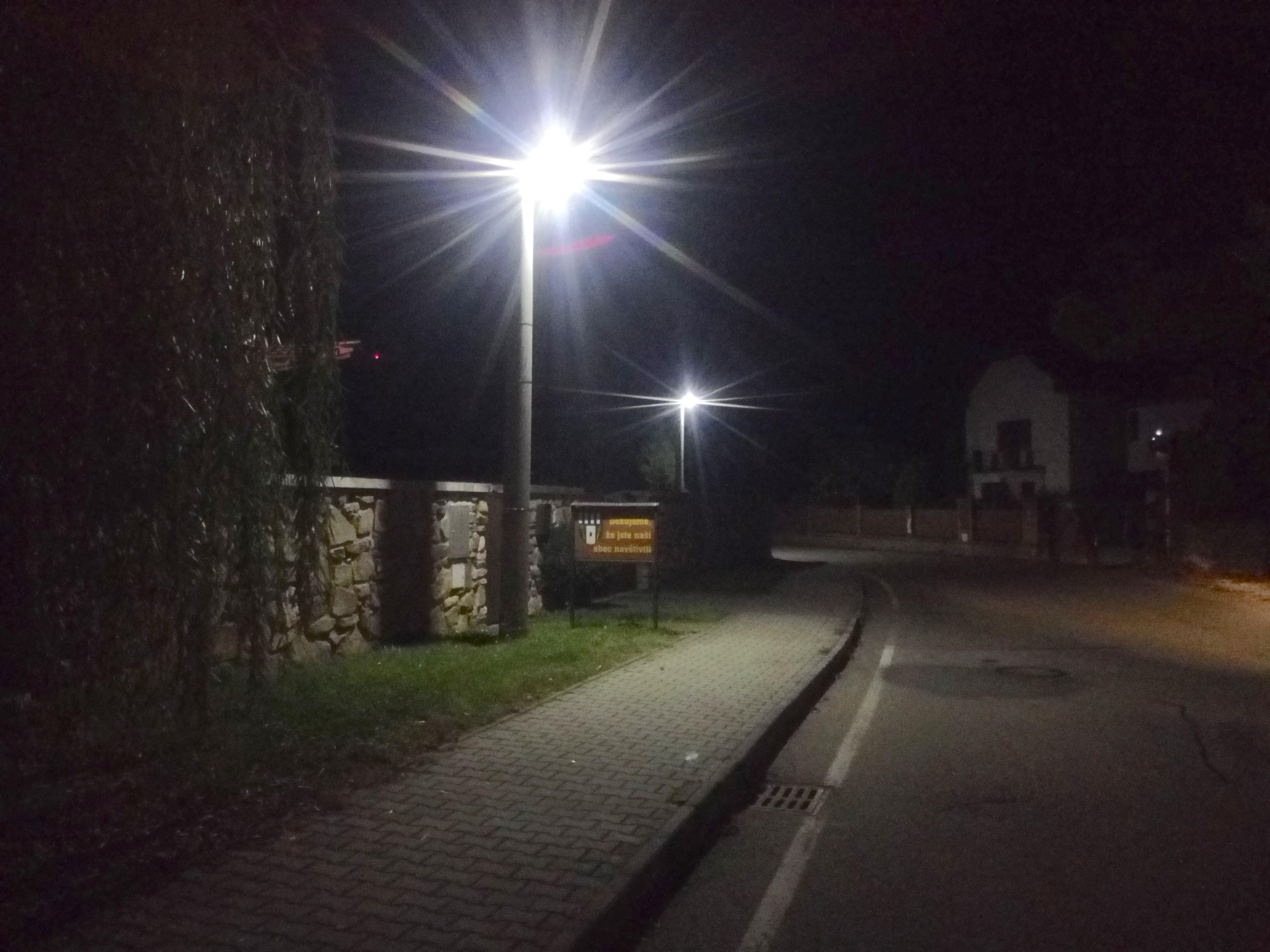 LED osvětlení Veřejné Zvíkovské Podhradí 3