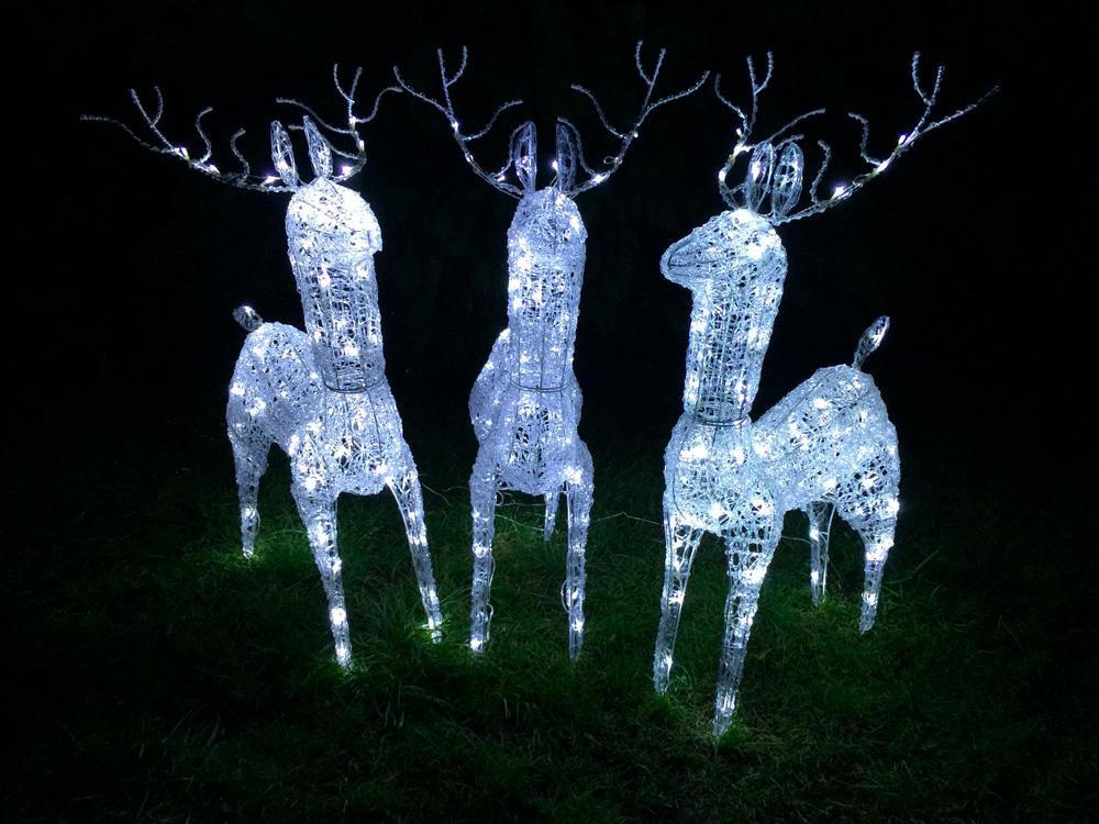 LED osvětlení zahrady sob 3