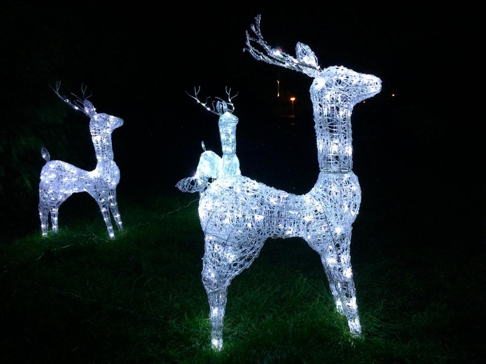 LED osvětlení zahrady sob 4