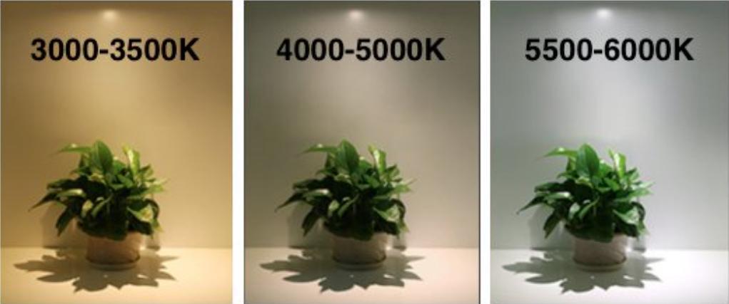 3000-3500K-4000-5000K-5500-600K