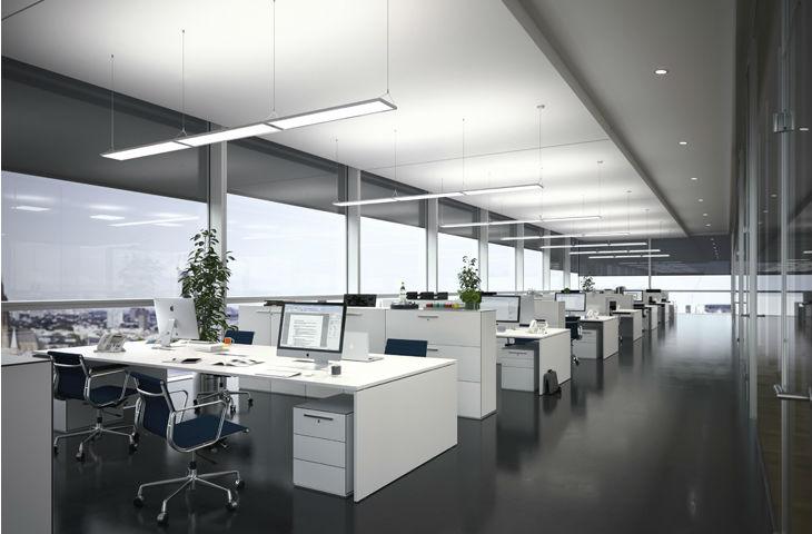 Kancelářské-osvětlení-závěsné-LED-panely