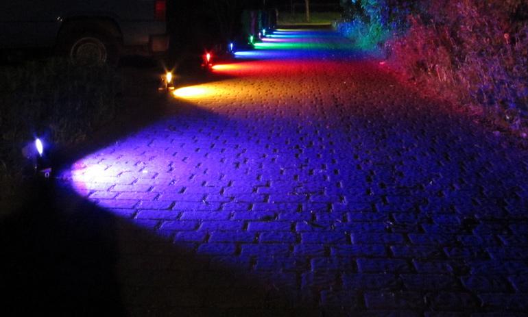 LED RGB osvětlení