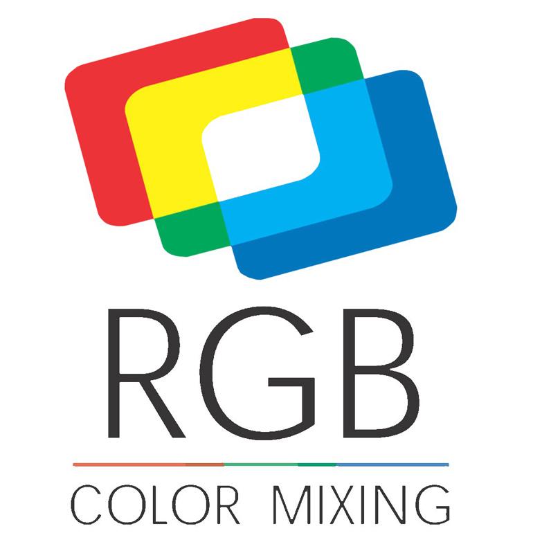 RGB barevný mix