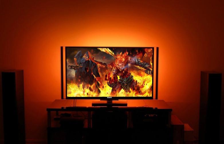 LED osvětlení TV