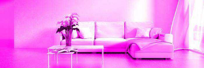 fialové světlo