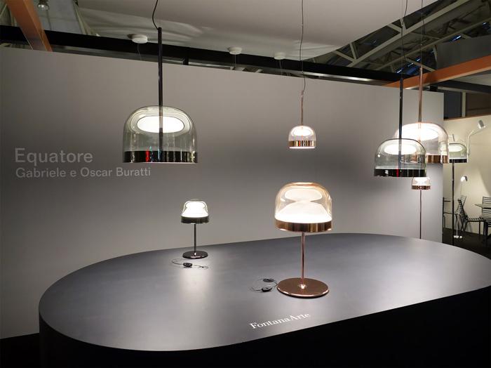 světelná kolekce Equatore