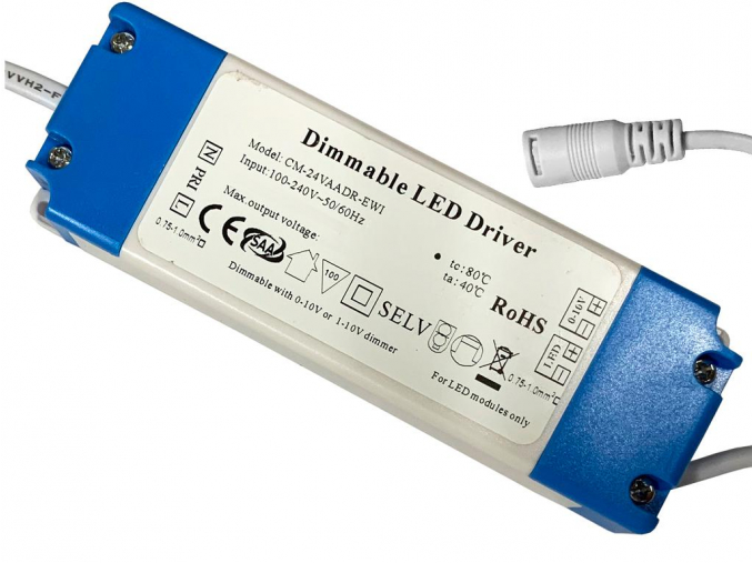 Napájecí zdroj k LED panelu 36W stmívatelný