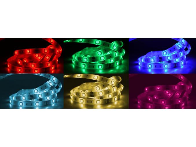 RGB LED pásek W300SMD zalitý 12V