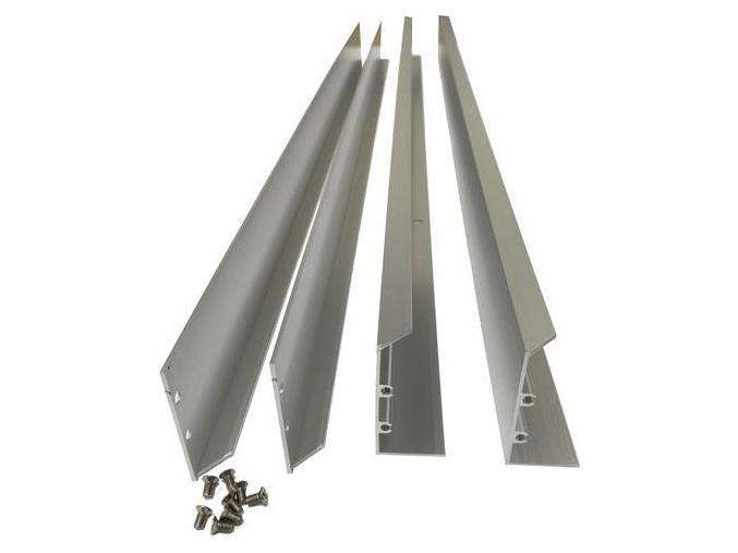 Stmívatelný stříbrný LED panel s rámečkem RGB 300 x 300 mm 13W