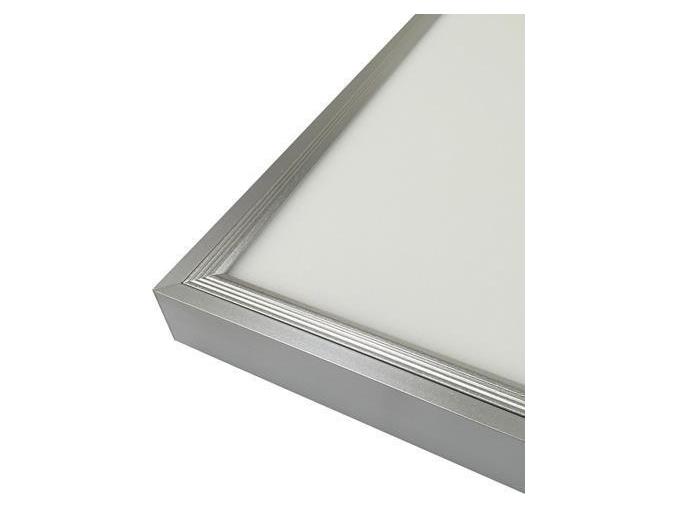Stmívatelný stříbrný LED panel s rámečkem RGB 300 x 600 mm 15W