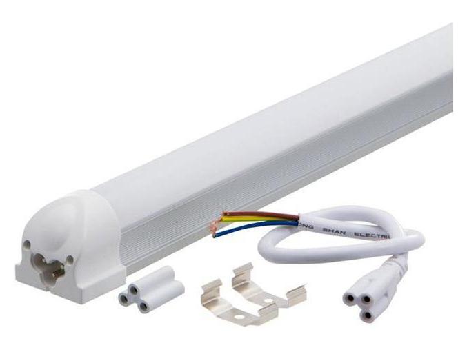 LED zářivkové svítidlo 150cm 24W T8 teplá bílá