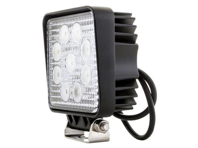 Hranaté LED pracovní světlo 27W 10-30V
