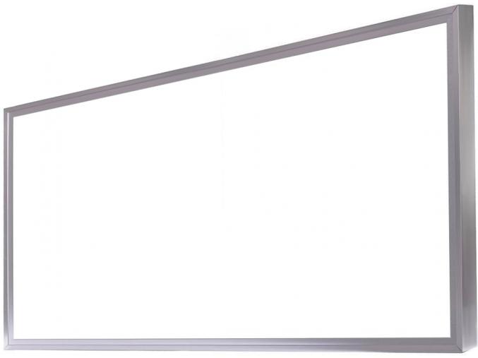 Stříbrný LED panel s rámečkem 600 x 1200mm 75W denní bílá