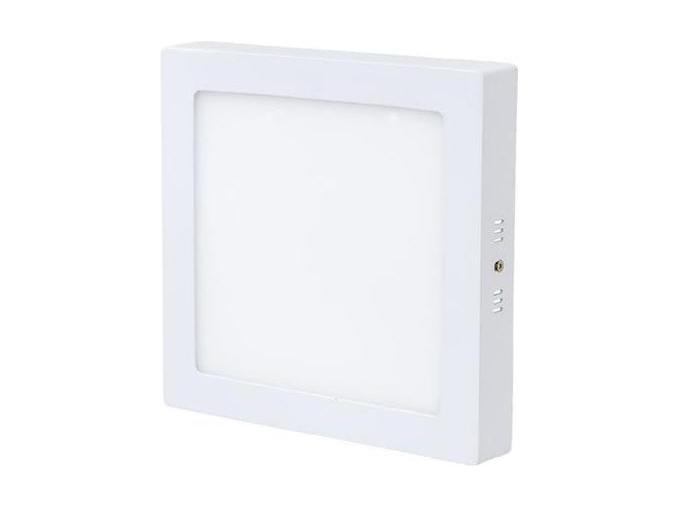 bílý přisazený LED panel 225 x 225mm 18W denní bílá