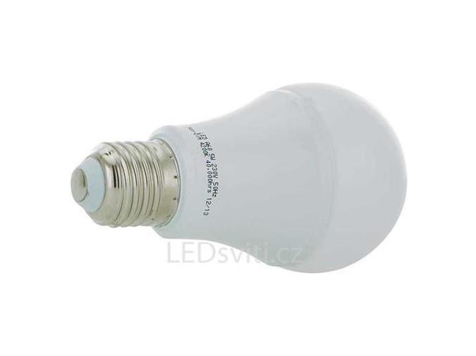 LED žárovka E27 8W teplá bílá