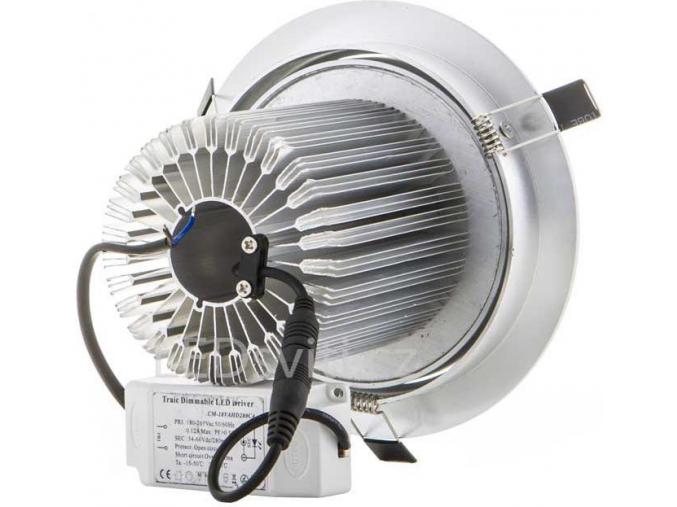 LED bodové svítidlo 7x 1W denní bílá
