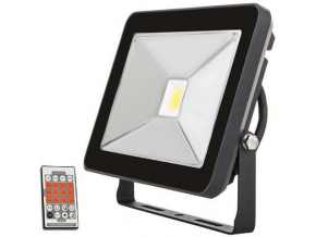 2521 Black LED flood light with motion sensor 30W SLIM 4100K 1 NIC