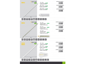 6331 LED tube 150cm 24W milky cover white 1 NIC