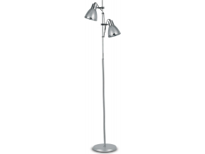 Ideal lux LED Elvis argento lampa stojací 2x5W 042794