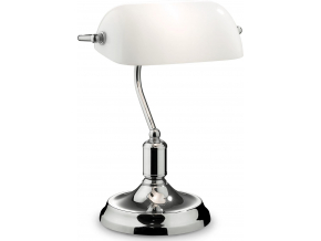 Ideal lux LED Lawyer Cromo stolní lampa 5W 045047