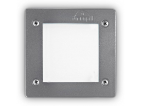 Ideal lux LED leti square fi1 grigio max 3w gx53 / 96599