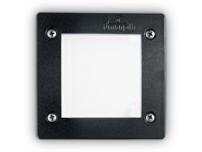 Ideal lux LED leti square fi1 nero max 3w gx53 / 96582