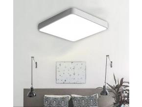 bílý designový LED panel 600x600mm 48W teplá bílá