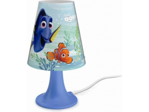 Philips LED finding dory lampa stolní 2,3w selv 71795/90/16