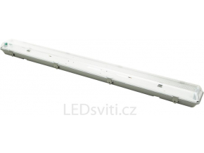 LED zářivkové těleso 120cm + 2x LED zářivka denní bílá 4800lm oboustranné