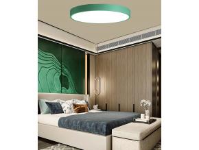 Zelený designový LED panel 400mm 24W denní bílá