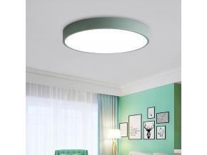 Zelený designový LED panel 500mm 36W denní bílá