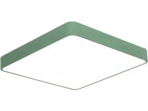 Zelený designový LED panel 500x500mm 36W denní bílá
