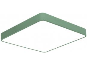 Zelený designový LED panel 500x500mm 36W teplá bílá