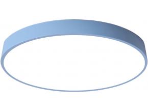 Modrý designový LED panel 400mm 24W denní bílá