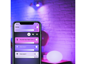 Philips Hue Flourish Bluetooth LAMPA STOLNÍ LED RGB 9,5W 806 lm 2000-6500K, bílá