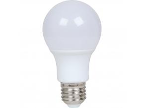 LED žárovka A60 E27 9W teplá bílá