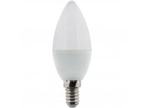 LED žárovka RLL C35 E14 svíčka 5W denní bílá