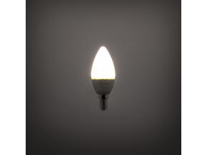 LED žárovka RLL C35 E14 svíčka 5W studená bílá