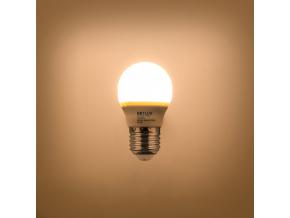 LED žárovka RLL G45 E27 miniG 5W teplá bílá