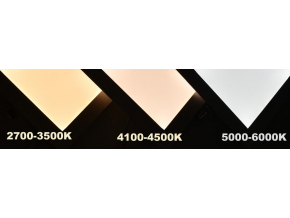 Podhledový LED panel RGB 300 x 1200 mm 30W