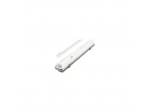 LED prachotěsné těleso + 1x 120cm LED zářivka s nouzovým modulem 2hod.