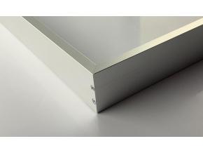 Stmívatelný stříbrný LED panel s rámečkem RGB 300 x 1200 mm 30W