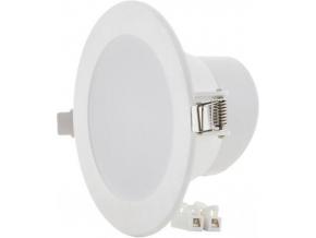 Bílé vestavné kulaté LED svítidlo 10W 115mm denní bílá IP63