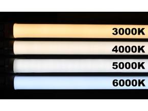 LED zářivka 60cm 10W čirý kryt denní bílá