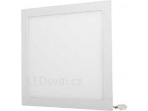 Bílý vestavný LED panel 300 x 300mm 25W teplá bílá