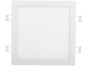 Bílý vestavný LED panel 300 x 300mm 25W bílá