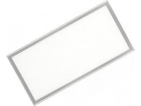 Stříbrný podhledový LED panel 300 x 600mm 30W denní bílá