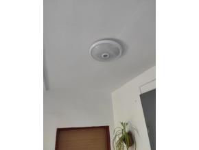 LED stropní svítidlo s PIR čidlem 12W teplá bílá