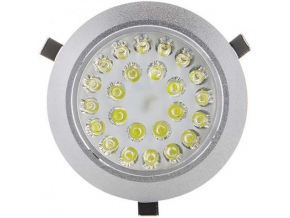 LED bodové svítidlo 24x 1W studená bílá