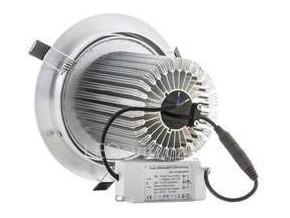 LED vestavné bodové svítidlo 24x 1W studená bílá